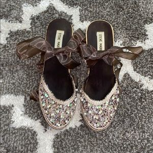 Ballerina wedge shoes